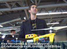 David Mayoral de @Erlerobotics